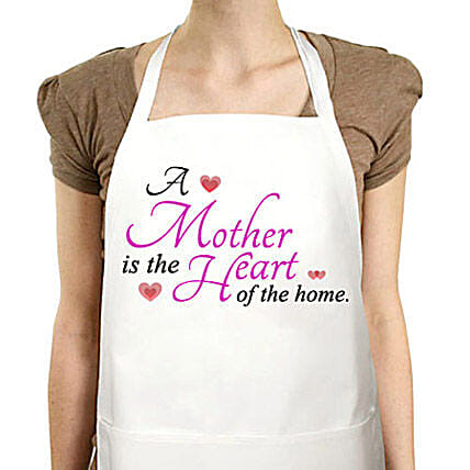 Amazing Mom-Special white apron